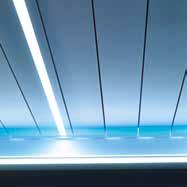 LED katusealuse valgustus