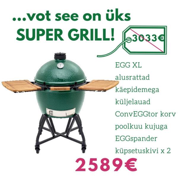 BGE grillikomplekt ExtraLarge